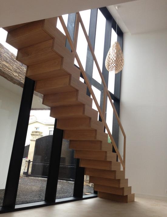 ariane romatet architecte bordeaux ariane romatet escalier sur mesure ariane romatet. Black Bedroom Furniture Sets. Home Design Ideas